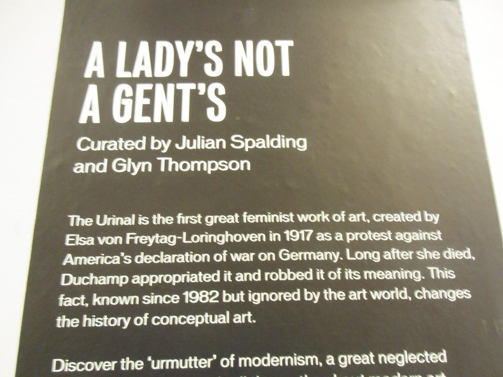 A Lady's not a Gent's