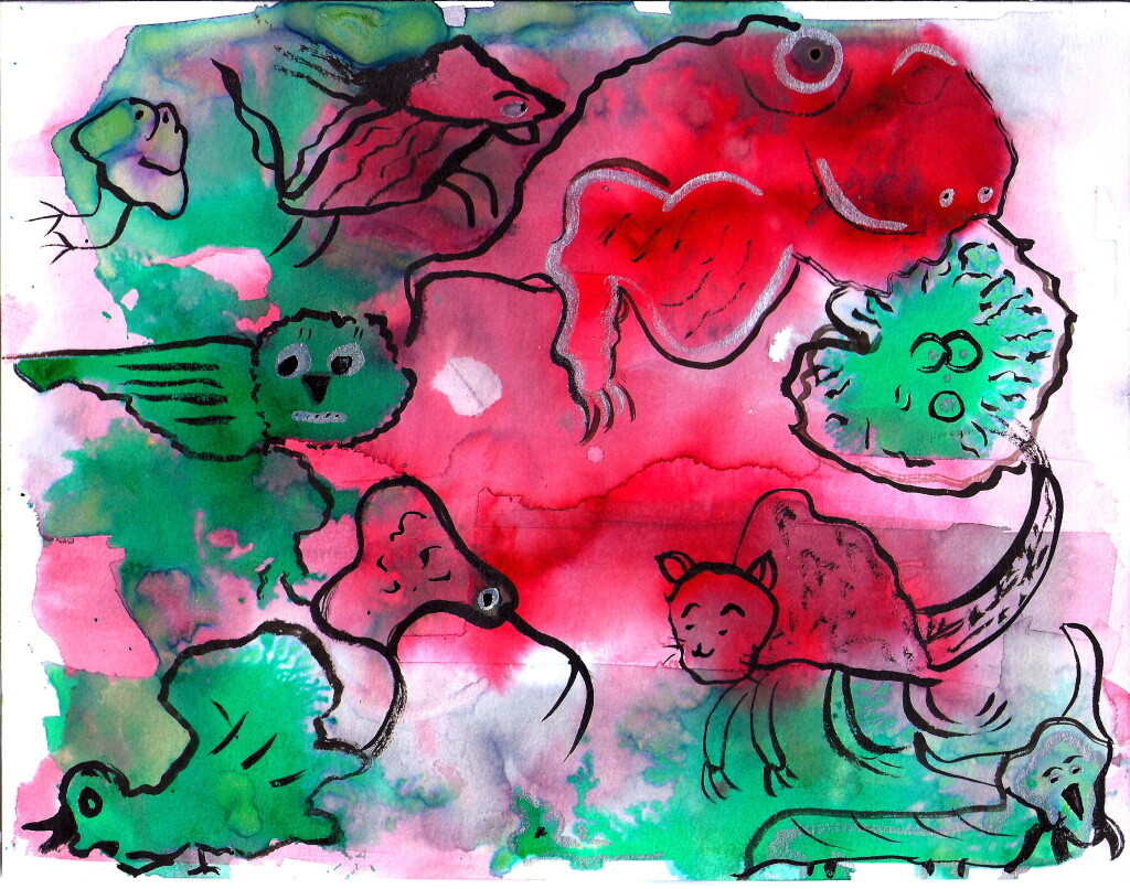 red-green-critters-online